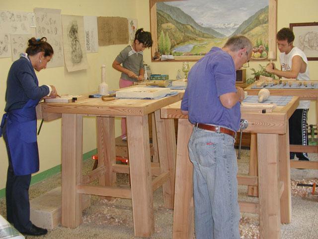 Corso di intaglio del legno